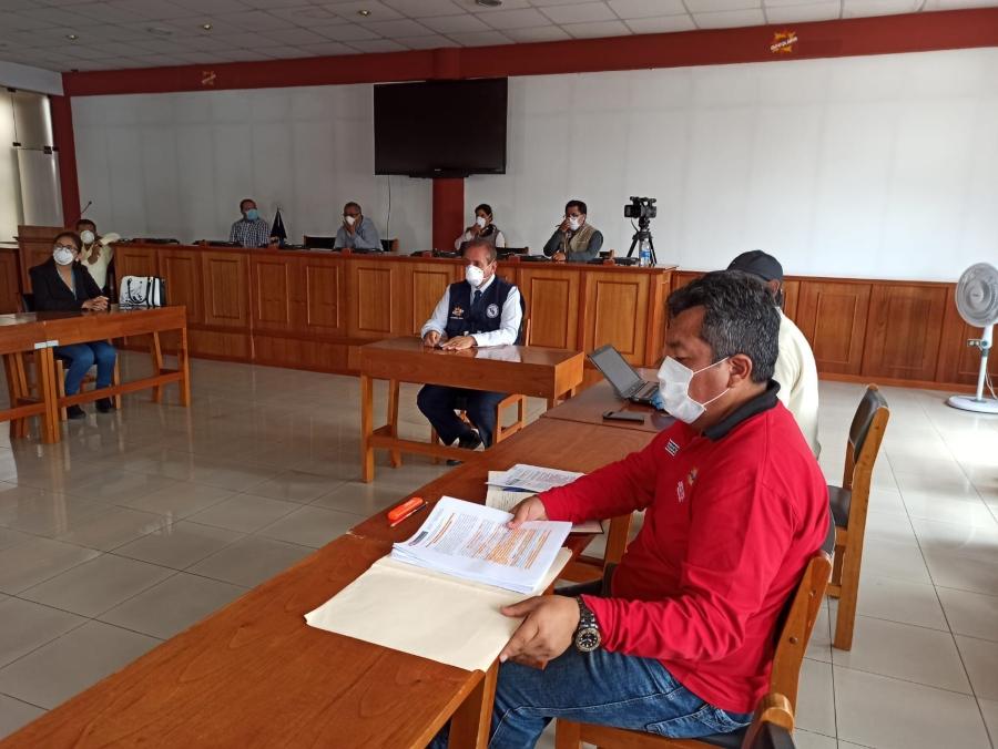 Autoridades del Gobierno Regional discutieron acciones y estrategias para frenar el Covid-19.