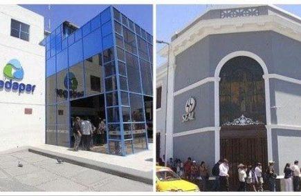 Arequipa: Seal y Sedapar no cortarán servicios por falta de pago