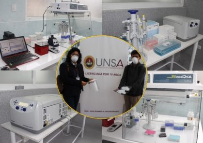 UNSA acondiciona laboratorio para el descarte de coronavirus (VIDEO)