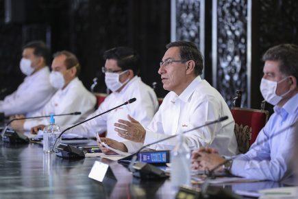 Martín Vizcarra: Recién en 2021 se normalizarán actividades en Perú