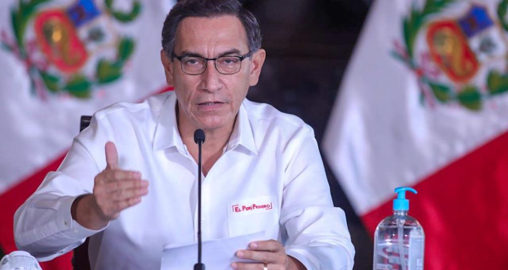 Coronavirus en Perú presidente Martín vizcarra ampliación cuarentena