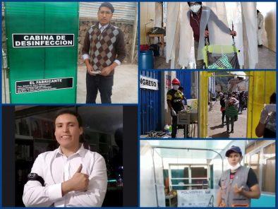 Ingenio y creatividad en jóvenes peruanos que se unen contra la pandemia