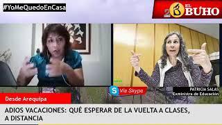 Las clases escolares virtuales y la situación en Chile por el Covid-19