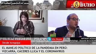 Manejo político de la crisis por el Covid-19: entrevistas en cuarentena