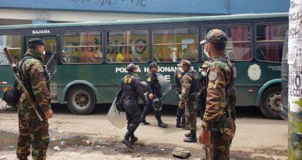 Arequipa: Reportan 30 casos de policías contagiados de coronavirus