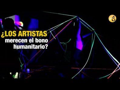 Cuarentena y artistas: ¿merecen el bono humanitario?
