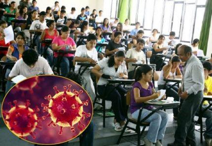 Suspenden labores en universidades e institutos hasta el 3 de mayo