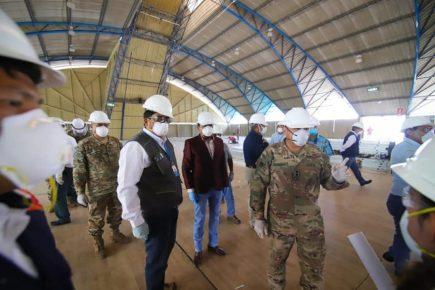 Arequipa: Centro de Aislamiento para pacientes Covid-19 estará listo en 6 días