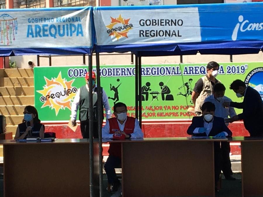 Comando de Operaciones Covid-19 se instala en   Arequipa