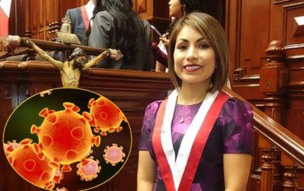 Coronavirus: Congresista Leslye Lazo y su esposo dan positivo a contagio