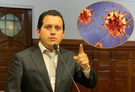 Coronavirus: José Luna da positivo y es el séptimo congresista contagiado