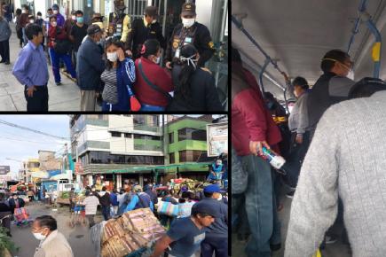 Coronavirus: Treinta contagiados, un fallecido y seguimos en la calle