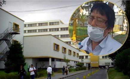 Exdirector del hospital covid Honorio Delgado es hospitalizado de emergencia