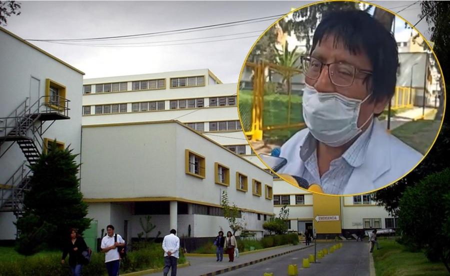 Arequipa: exdirector del hospital covid Honorio Delgado es hospitalizado de emergencia