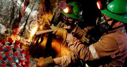 Entre el empleo y la vida: focos infecciosos de coronavirus en empresas mineras
