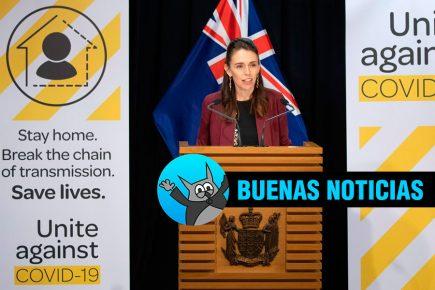 Buenas Noticias: Nueva Zelanda dice tener bajo control la epidemia