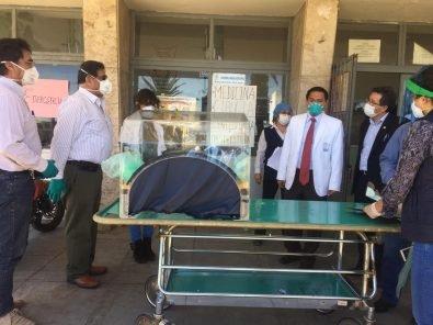 Arequipa: el hospital Covid-19 dispone solo de dos ventiladores mecánicos