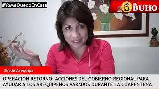 Entrevistas en cuarentena: viajes de retorno y Gerente Caja Arequipa
