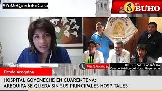 ¿Qué pasó en el Hospital Goyeneche?