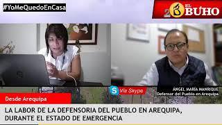 Defensoría del Pueblo en Emergencia, Impacto en la Cultura – Entrevistas en Cuarentena
