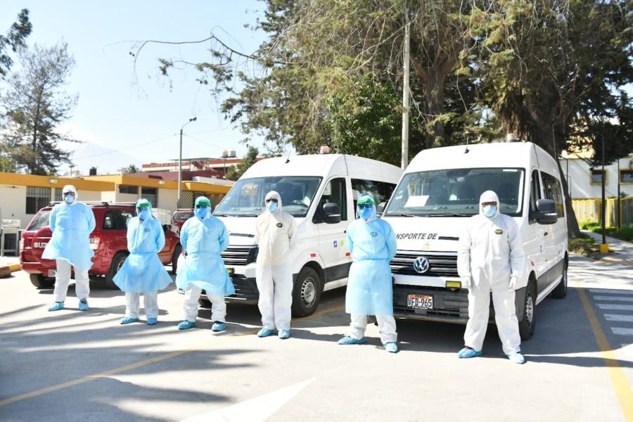 Arequipa: cómo será el recojo de cadáveres de víctimas del Covid-19. Presentan a equipo humanitario