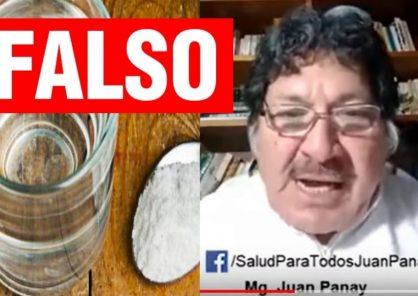 FALSO: Video sobre gárgaras de sal que protegen del coronavirus