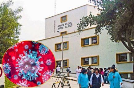 Coronavirus: 5 miembros del Honorio Delgado dan positivo, amplían cuarentena de hospital