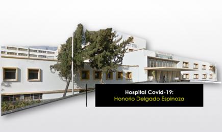 Arequipa: el hospital para casos de Covid-19 será el Honorio Delgado