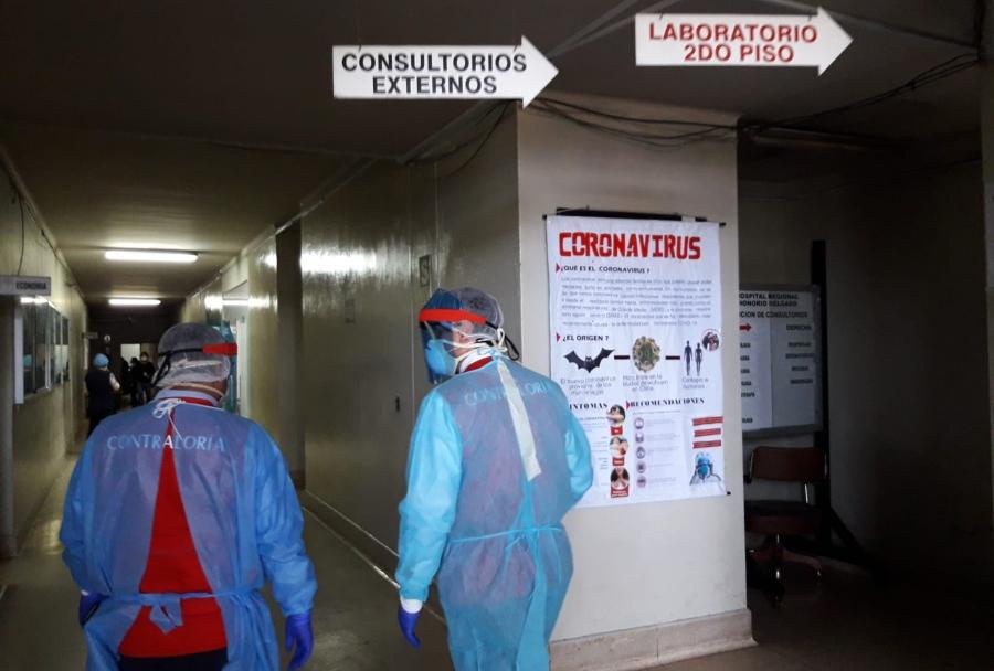 Contraloría: hospital Honorio Delgado sin camas UCI para pacientes Covid-19