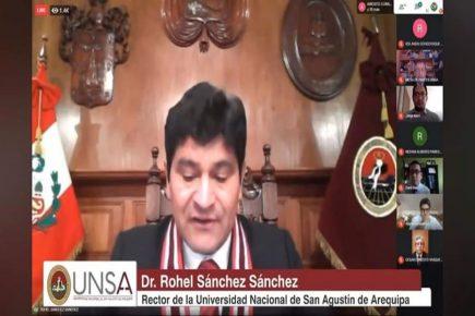 UNSA inicia clases virtuales| AL VUELO noticias desde Arequipa – Perú  20/04/20