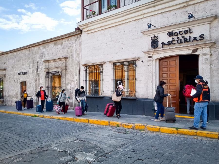 Arequipa: ¿negociados en el traslado de viajeros?