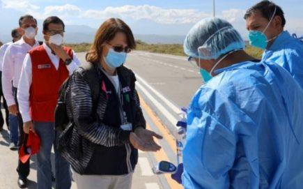 Pilar Mazzeti en Arequipa: aquí se termina la división y se guardan la inmadurez en el bolsillo