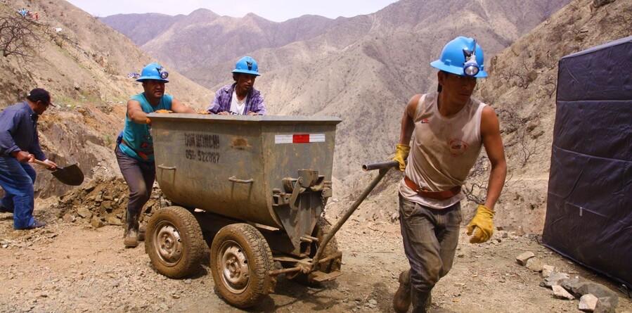 Minería artesanal en Arequipa