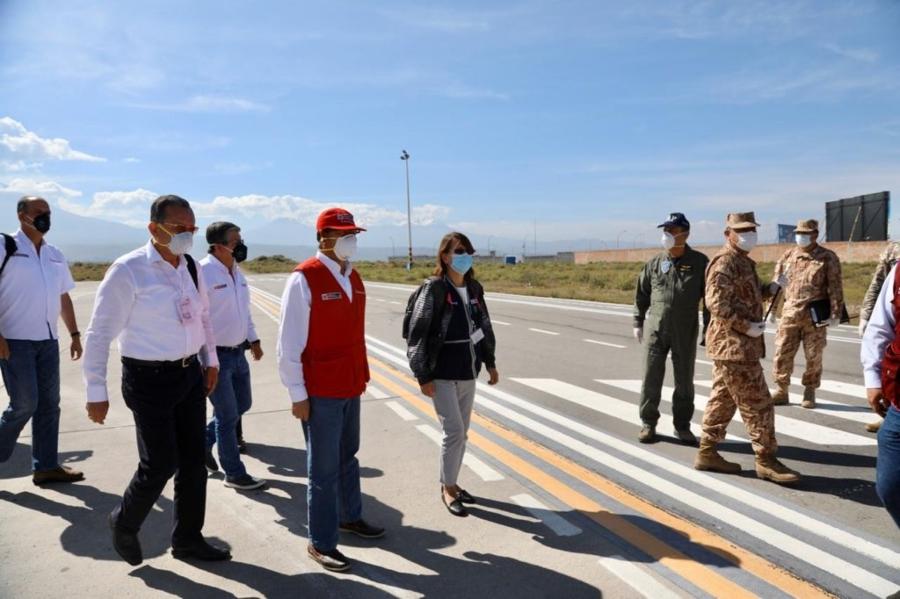 Comando de Operaciones Covid-19 llega a Arequipa para verificar trabajo de autoridades