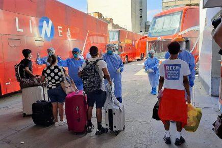 Arequipa: Aquí tercer listado de retorno en viajes humanitarios
