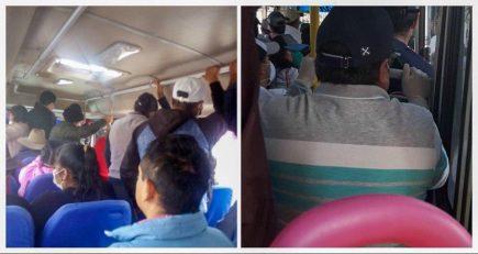 Transportistas que incumplen disposiciones sanitarias en la mira de Fiscalía