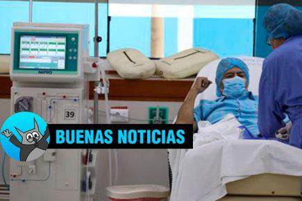 Buenas noticias: primer policía infectado por Covid en Arequipa salió de UCI