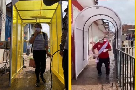 Túneles de desinfección: ¿Son realmente peligrosos y dañinos para  la  salud?