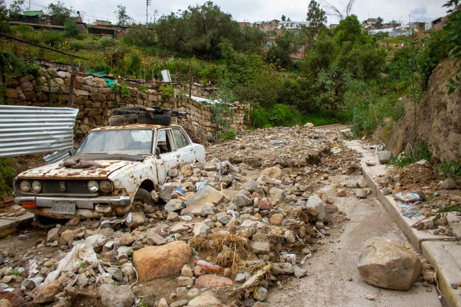 La pandemia del Covid-19 empeora la situación de los damnificados por las lluvias