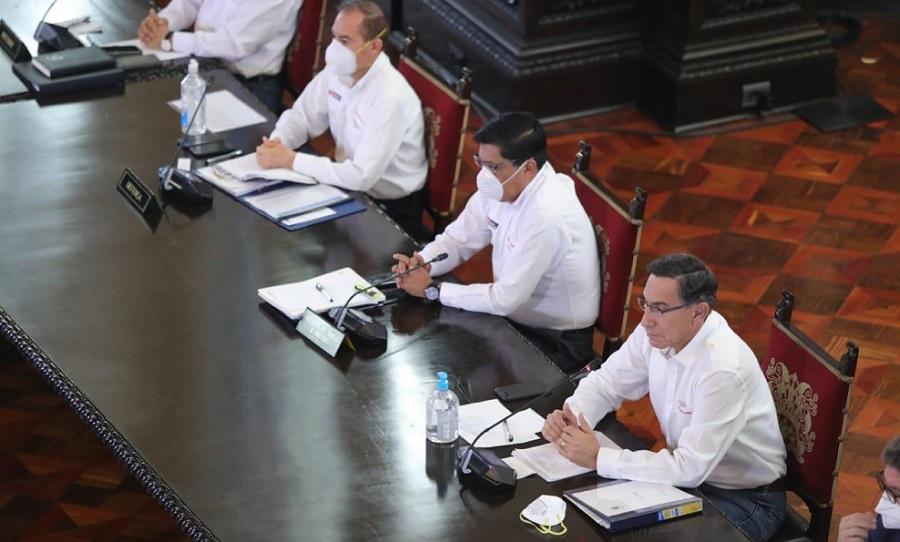 vizcarra y sus ministros