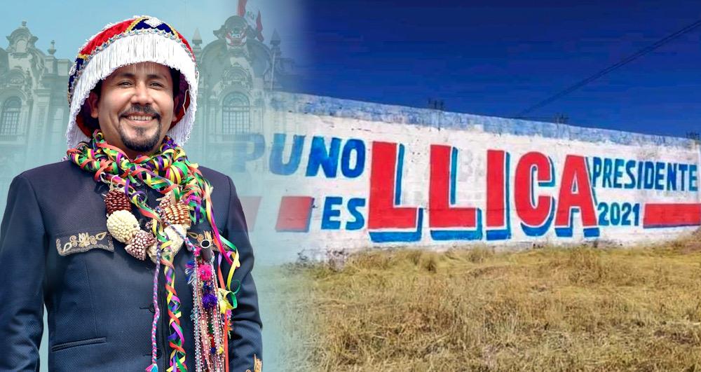 Arequipa gobernador Elmer cáceres llica pintas proselitistas