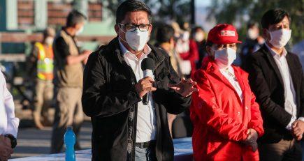 Premier Zeballos en Arequipa: Gobierno evaluará subsidios para el transporte público