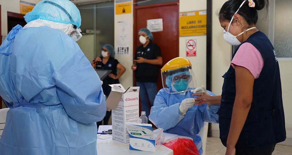 coronavirus en perú postas de salud