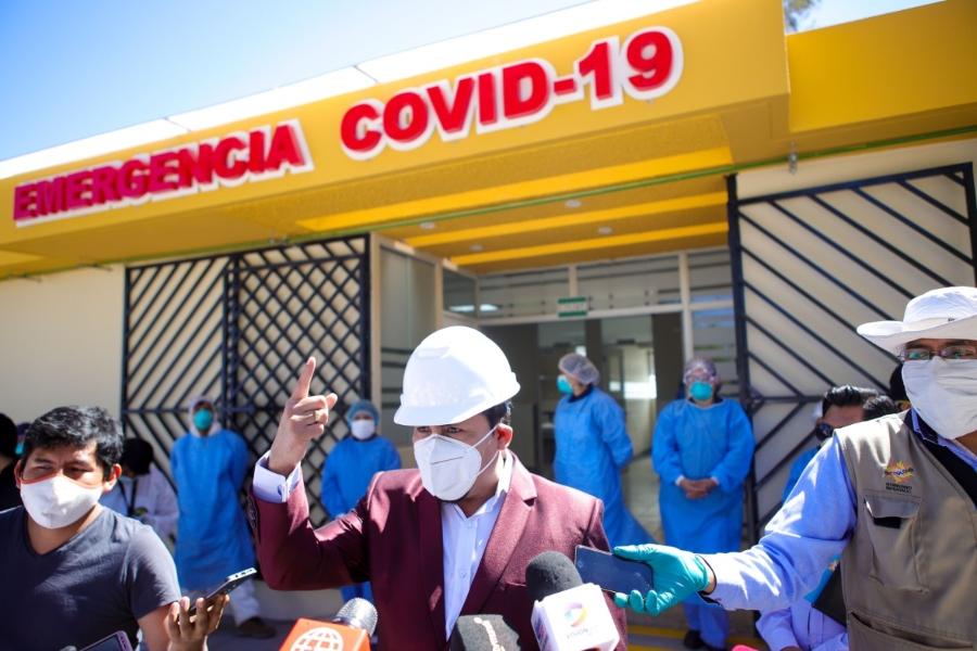 Elmer Cáceres Llica critica a Cerro Verde por su escaso aporte para enfrentar la pandemia