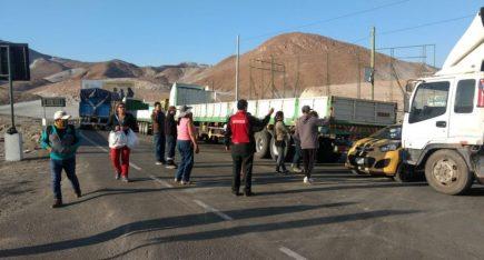 Arequipa: más de 200 camiones con alimentos quedan varados