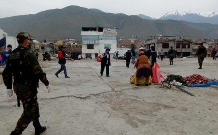 Arequipa: cierre de grandes mercados fomentó comercio ambulatorio en los alrededores