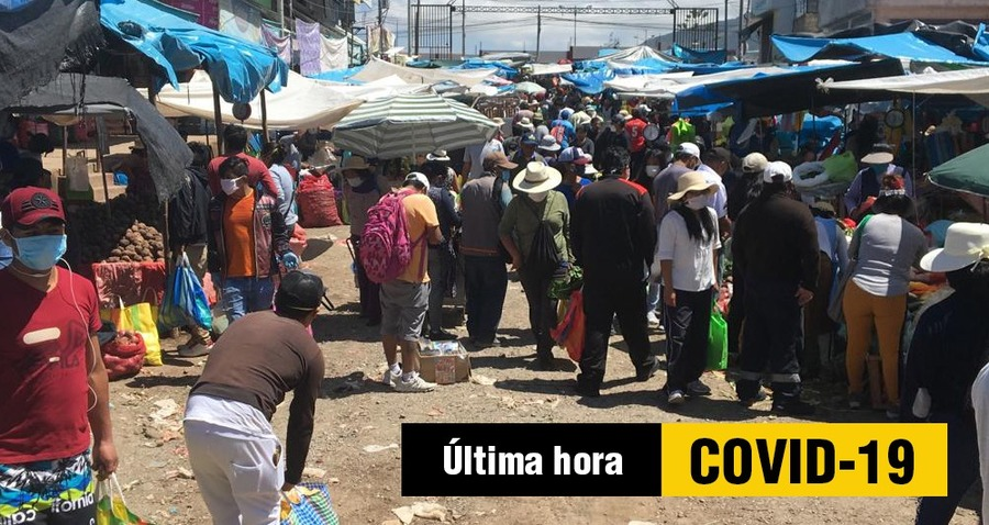 contagios de coronavirus mercados de arequipa