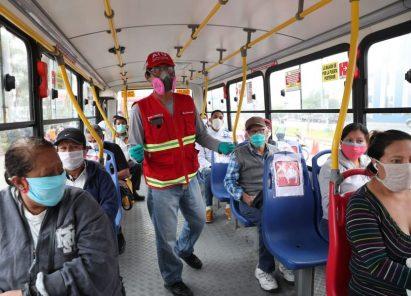 Transporte público: Conoce protocolo de seguridad para pasajeros y conductores