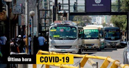 Arequipa: Prohíben transporte público tras contagios por coronavirus