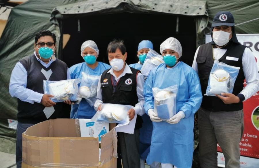 Arequipa: Gobierno Regional adquirió mascarillas a 35 soles a empresa que vende materiales de construcción